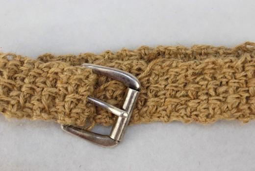 DIAMOND CROCHET BELT Free Crochet Design and Pattern