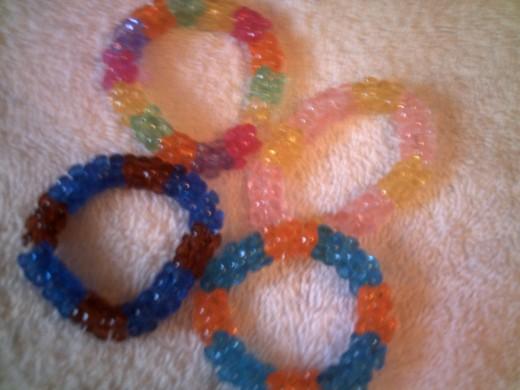 Tri-Bead Napkin Rings