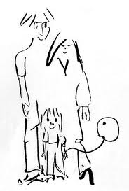 John's drawing of his family