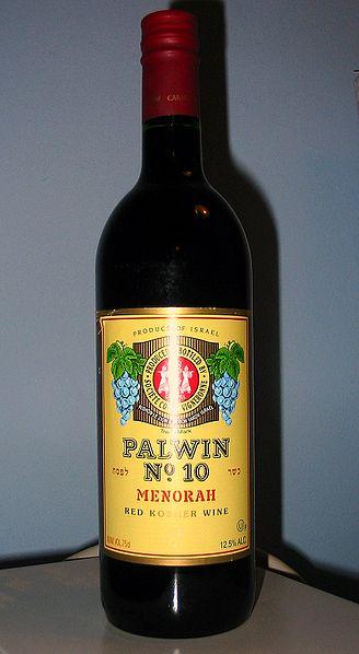 A mevushal kosher wine