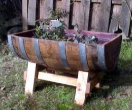 Ideas for Container Gardening with Wooden Barrels
