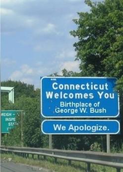 Birthplace of George W Bush