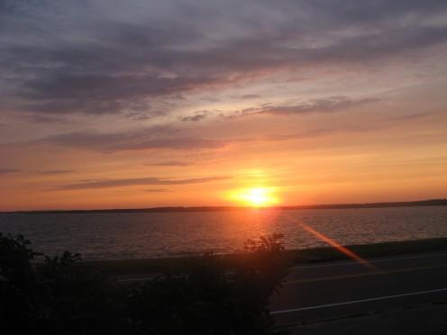 A Newport Sunset