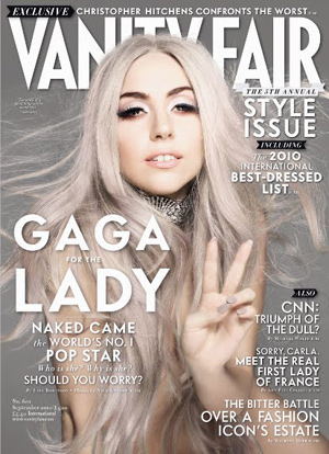 Although not a person I would turn to normally for fashion advice, I have to admit she does look hot with silvery tresses.