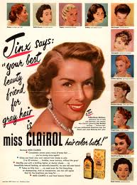 Early brainwashing campaign to convince women that gray here is BAD!