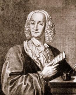A portrait of Antonio Vivaldi in 1725. Image from Wikipedia