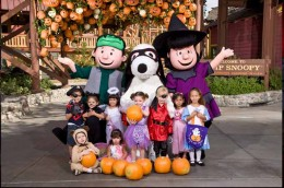 Come enjoy the Halloween Party at Camp Snoopy at Knott's Berry Farm.