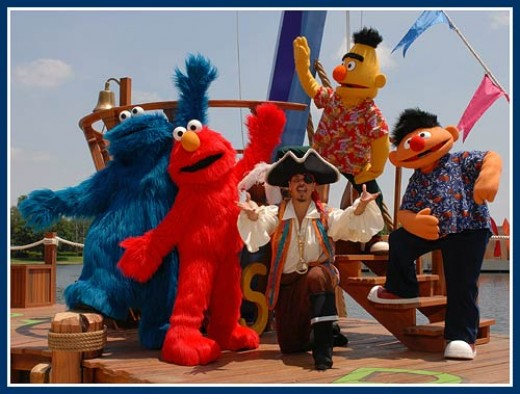 Celebrate with the Sesame Street gang at Sea World's Halloween Spooktacular.