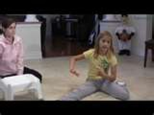 Splits and Kids Fitness, Stretching