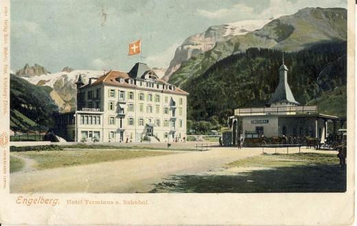 Engelberg village between Zurich and Lucerne