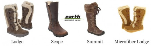 Winter Warmth with Earth Boots