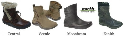 Earth ankle boots