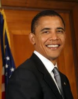 """Barack Obama. The first white man to be elected President of The United States. At last """"The slaves can come in from the cold""""."""