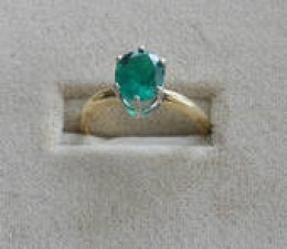 Emeralds are a wonderful example of another type of colored gemstone.