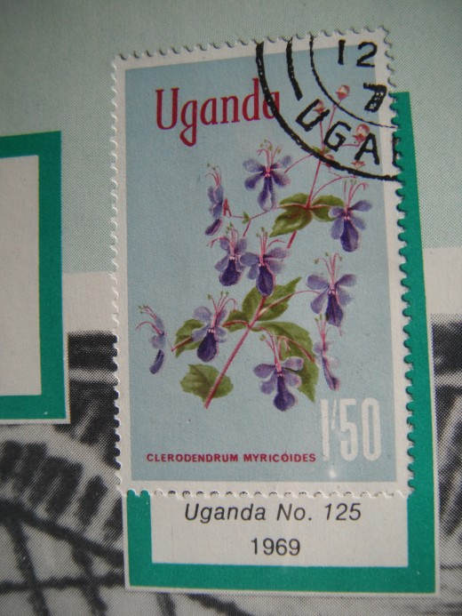 Another  Uganda stamp