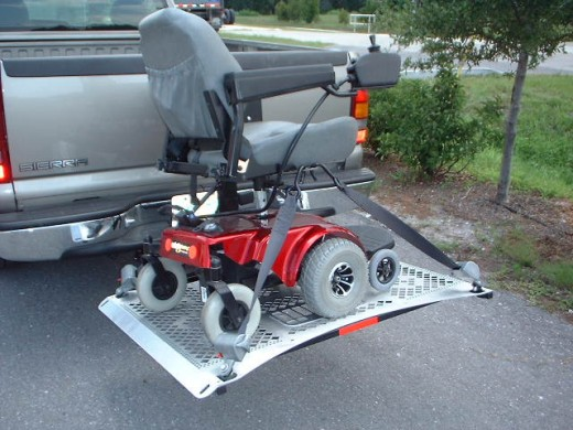 External Power Wheelchair Lift