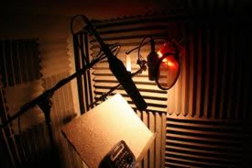 A Home Recording Studio Sound Booth