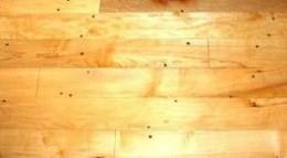 Blond antique maple flooring