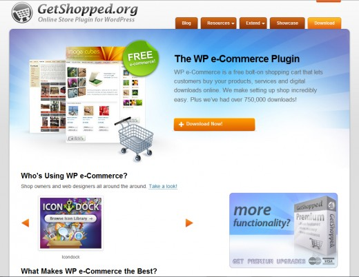 WP e-Commerce is authored by GetShopped.org, which is based in New Zealand