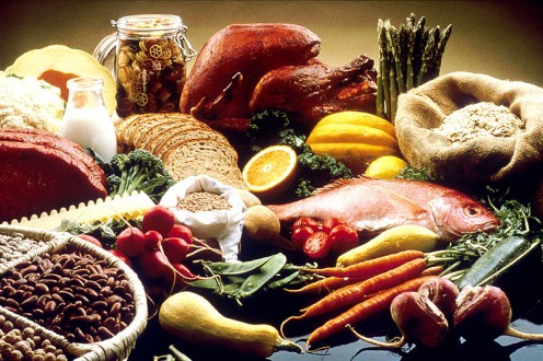 Good foods recommended by the National Cancer Institute.