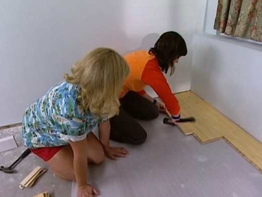 How to make your laminate floors shine » DIY Guides