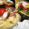 Easy Breakfast Recipe - How to Make a Cheese Mushroom Omelet / Omelette