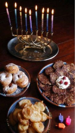Hanukkah Recipes, Chanukah Crafts, Hanukkah Gift Ideas.