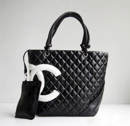 Bag-Boutique - Сумка Chanel (черная с серебром) купить в Москве.