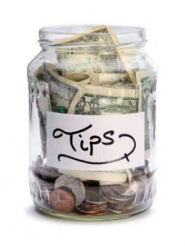 Some places welcome tipping, in fact they count on tipping as part of their income.