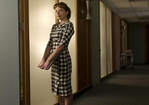 Check has made a major comeback, thanks to Mad Men style inspirations like the outfit above