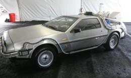 The famous DeLorean.