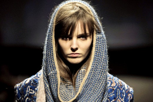 Why so serious, snood lady?
