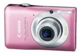 Canon Powershot Pink Digital Camera