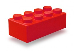 The iconic Lego brick.