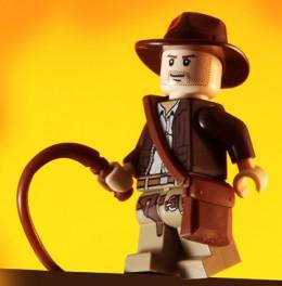 Indiana Jones is Lego form.