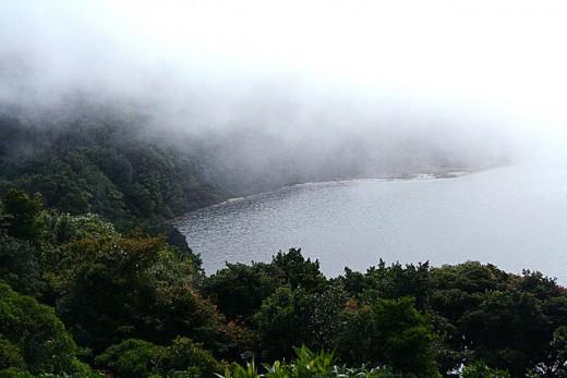 Pos Vocano Sulfur Lake Caldera Costa Rica
