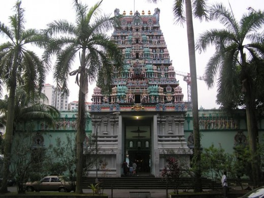 Singapore Sri Thendayuthapani Temple