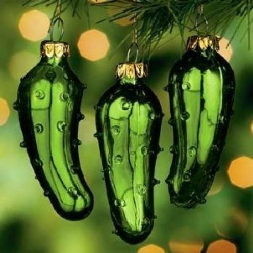 Beautiful German Christmas Pickles