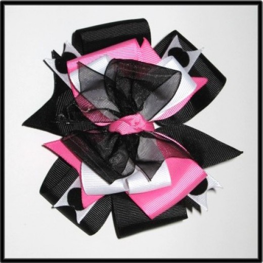 How To Make Hair Bows For Teenagers. Learn to Make This Hair Bow