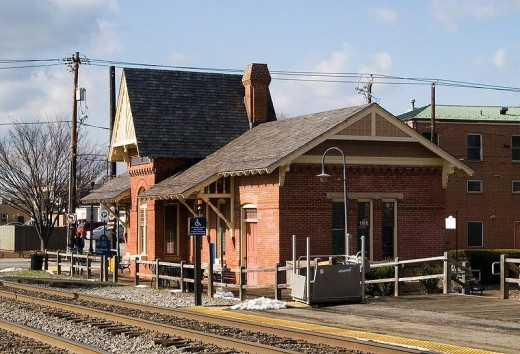 Gaithersburg Train Station: As the suburbs of the nation's capital grow in business ventures, so does their populations with their transportation needs.