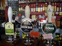 Nice Clips! An array of cask ale handpulls.