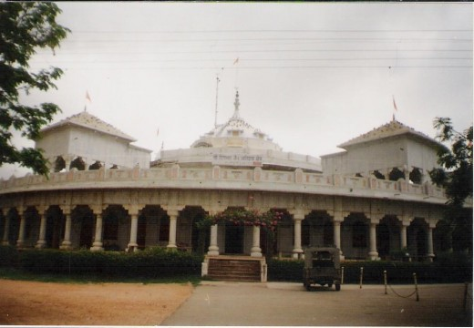 Jain temple at padampur(near Jaipur, Rajasthan)