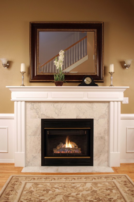 refacing a brick fireplace