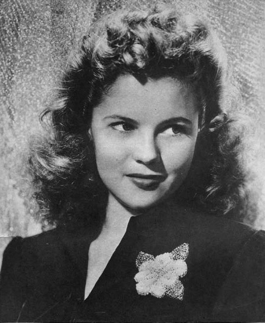 Shirley Temple as a young lady