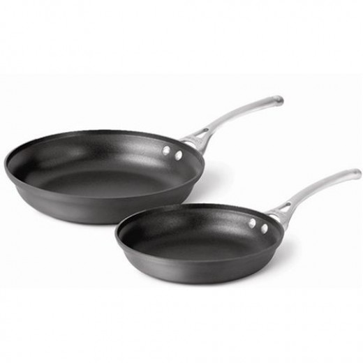 Calphalon Contemporary Nonstick 10- and 12-Inch Omelet Pans, Set of 2