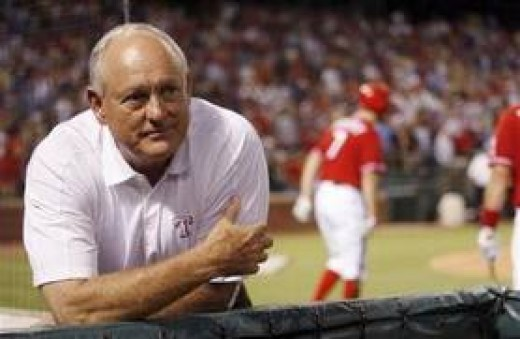 Texas Rangers Team President, and Legendary Hall Of Fame Pitcher, Lynn Nolan Ryan.