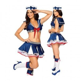 "One of the most popular ""sexy"" costumes for Halloween - the Sailor.  Everyone loves a uniform! (scroll down to buy this sailor outfit...)"