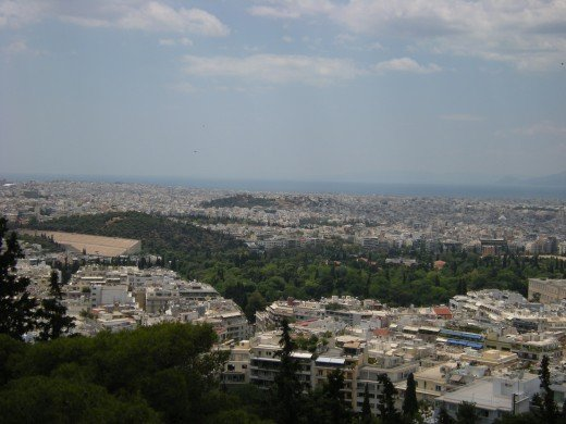 The Stadium, the Ardettos Hill and the Gardens