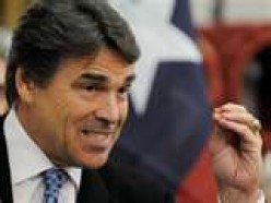 Rick Perry  his words come back to haunt him.