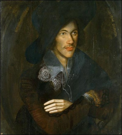 Portrait of John Donne by an unknown English artist